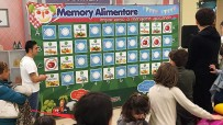 Children entertainment: Food Memory Game