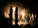 Firework for wedding in Italy