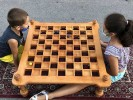 Wooden games traditional