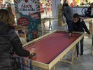 Vintage and magnificent shuffleboard table