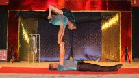Show of circus art - Trio Mundial