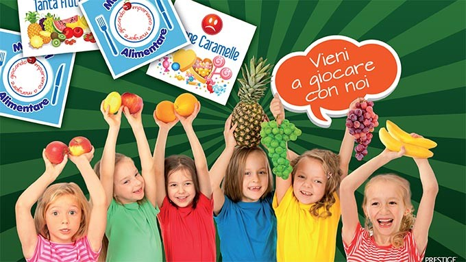 Children's entertainment of food education