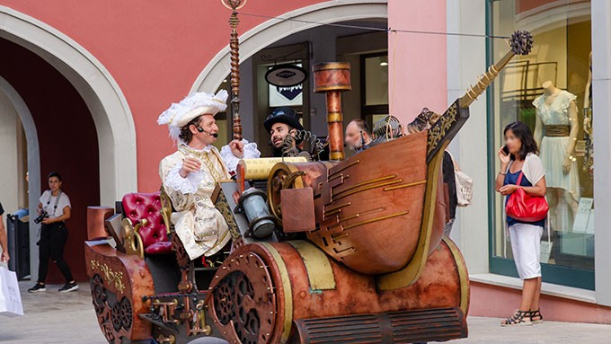 Les artistes Steampunk et la Time Machine