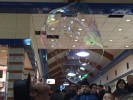 Big light bubbles show