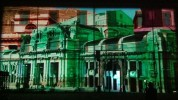 3D mapping show and building projection